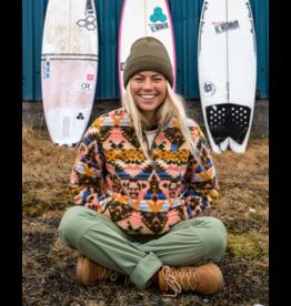 BILLABONG GIRLS A/Div Boundary Mock Neck Fleece