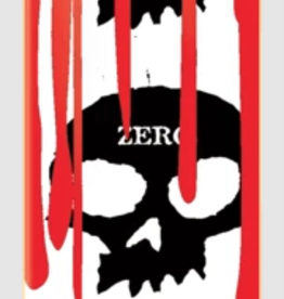 """Zero SKULL BLOOD'  White  Available in 3 sizes! - 7.875"""" x 31.4"""" 