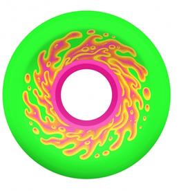 SLIMEBALLS 54.5mm Mini OG Slime Green Pink 78a Slime Balls Skateboard Wheels