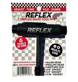REFLEX Reflex Bearings Triflex Black Multi-Purpose Skate Tool