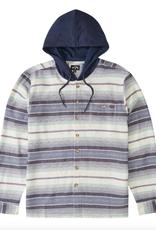 Billabong Guys Baja Hooded Flannel