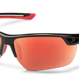 SunCloud CONTENDER BLACK POLARIZED RED MIRROR