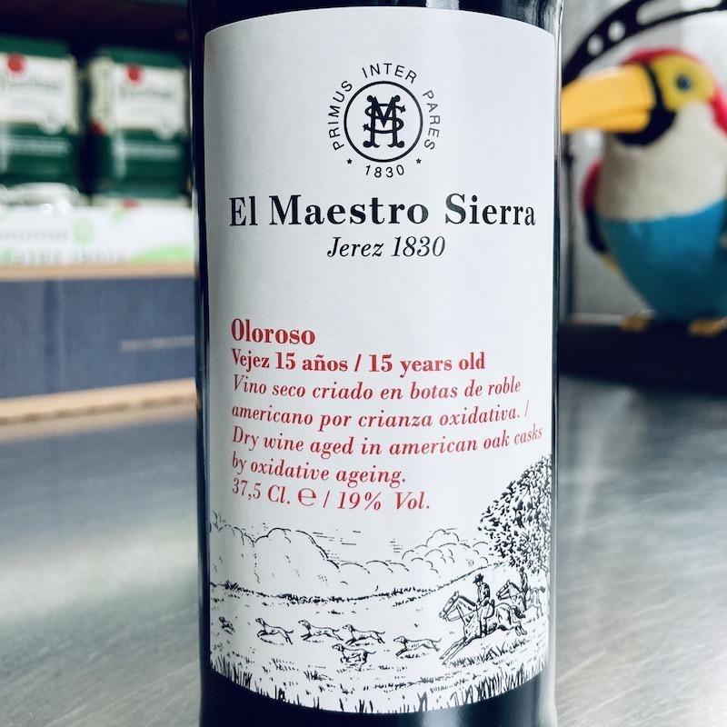 Spain El Maestro Sierra Oloroso 15 anos