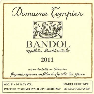 France 2018 Domaine Tempier Bandol Rose