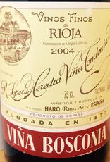 Spain 2008 Lopez de Heredia Rioja Viña Bosconia