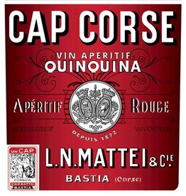 France L.N. Mattei Cap Corse Quinquina Aperitif Rouge