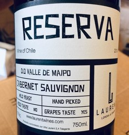 "Chile 2018 Laurent Family Vineyard ""Reserva"" Cabernet Sauvignon Valle del Maipo"