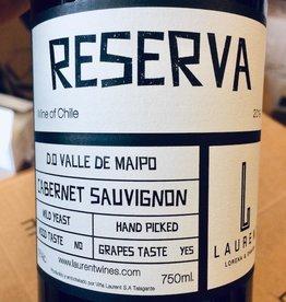 """Chile 2020 Laurent Family Vineyard """"Reserva"""" Cabernet Sauvignon Valle del Maipo"""