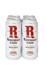 Belgium Rodenbach Classic Can 4pk