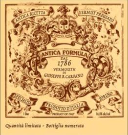 Italy Carpano Antica 1.0L