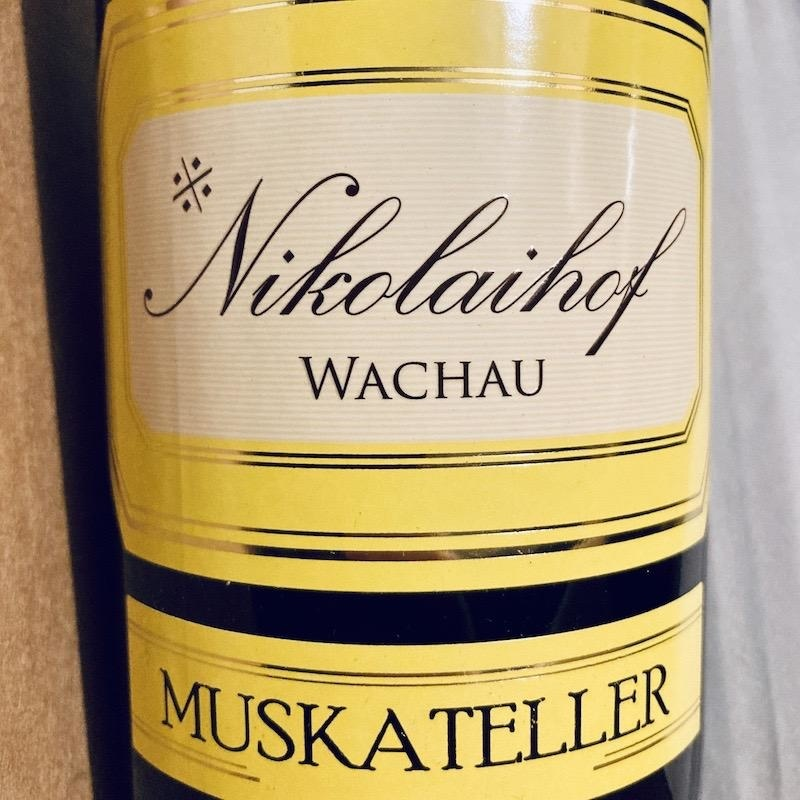 Austria Nikolaihof Gelber Muskateller Library Vertical