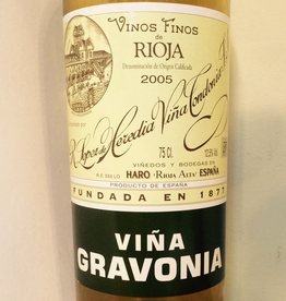 Spain 2011 Lopez de Heredia Gravonia