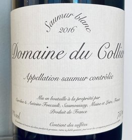 France 2016 Domaine du Collier Saumur Blanc