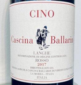 """Italy 2017 Cascina Ballarin Langhe Rosso """"Cino"""""""