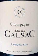 """France Etienne Calsac Champagne """"L'échappée Belle"""" Blanc de Blancs 1er Cru"""