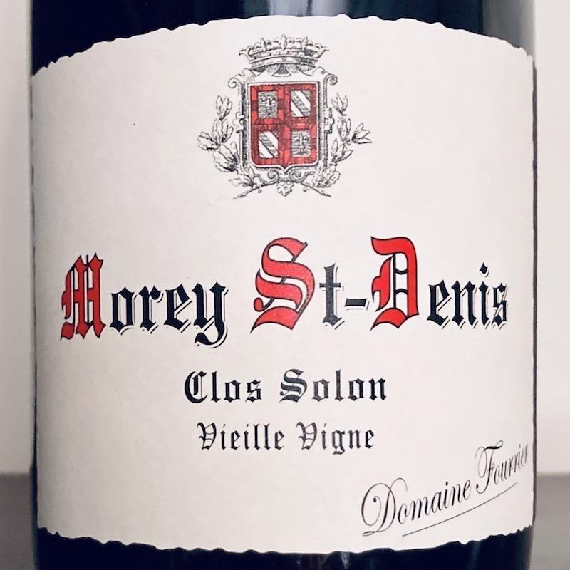 """France 2018 Fourrier Morey St Denis """"Clos Solon"""""""