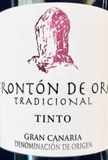 """Spain 2019 Fronton De Oro Gran Canaria """"Tradicional"""" Tinto"""