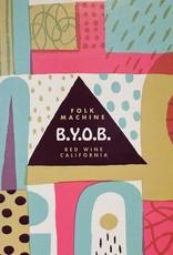 """USA Folk Machine """"B.Y.O.B."""" Red 3L bag in box"""
