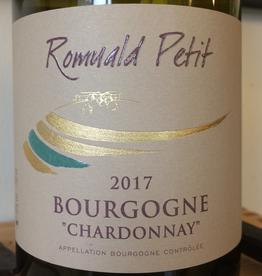 France 2019 Romuald Petit Bourgogne Blanc Chardonnay