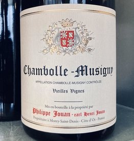 France 2017 Philippe Jouan Chambolle Musigny Vieilles Vignes