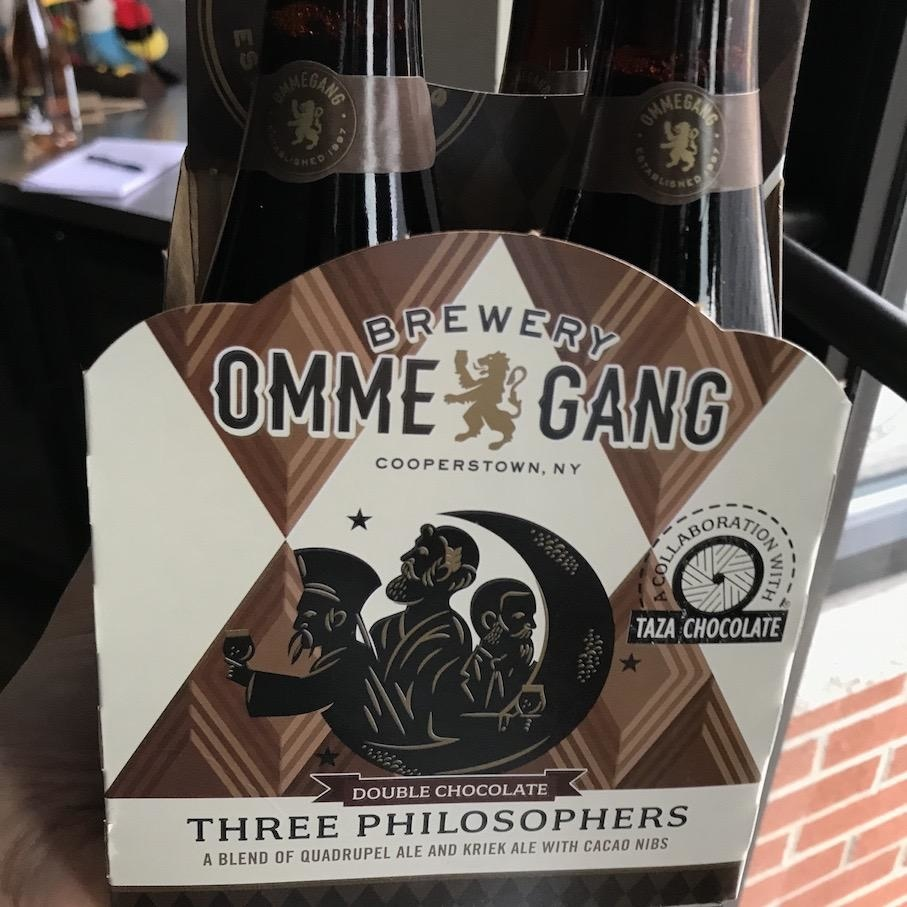 USA Ommegang Double Chocolate Three Philosophers 4pk