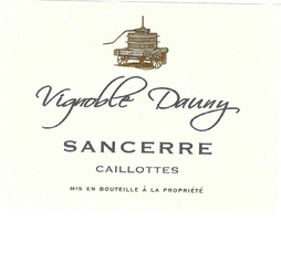 "France 2020 Vignoble Dauny Sancerre ""Les Caillottes"""
