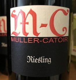 "Germany 2017 Muller-Catoir ""MC"" Riesling Feinherb"