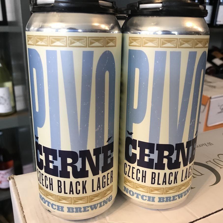 USA Notch Cerne Pivo Black Lager 4pk