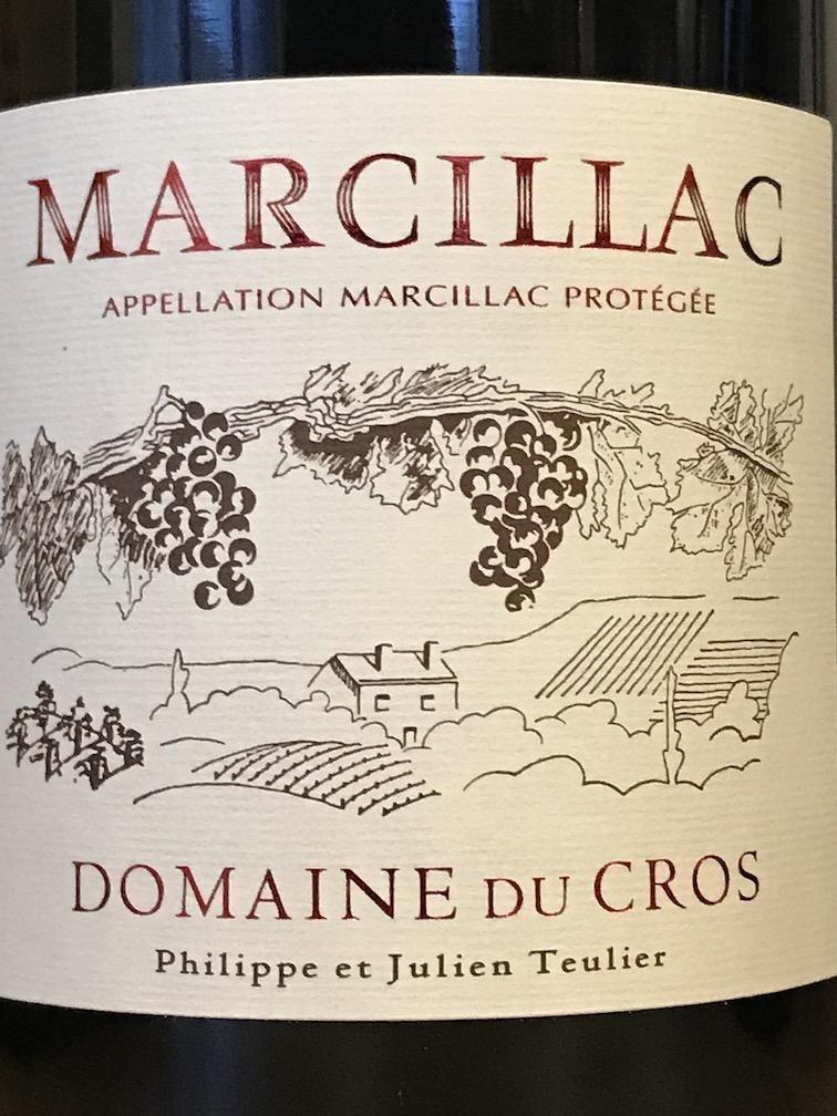 France 2018 Domaine du Cros Marcillac