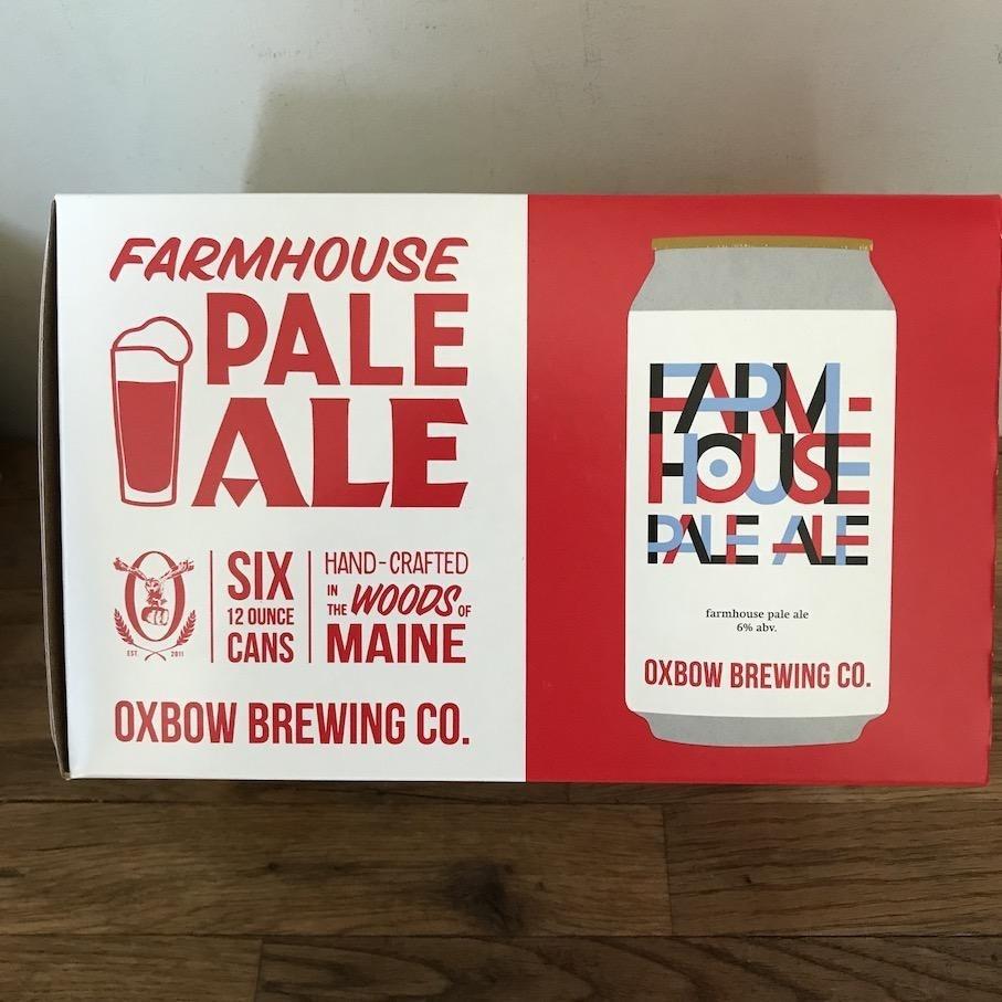 USA Oxbow Farmhouse Pale Ale 6pk