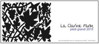 USA 2017 La Clarine Farm Piedi Grandi