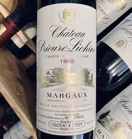 France 1988 Chateau Prieure Lichine Margaux