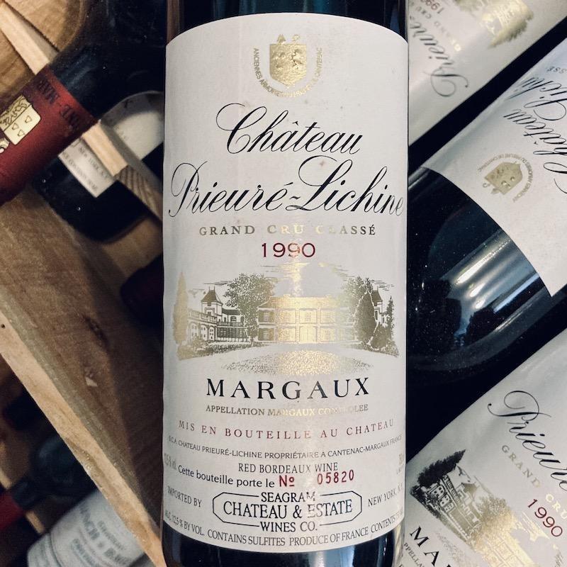 France 1988 Chateau Prieure Lichine Margaux