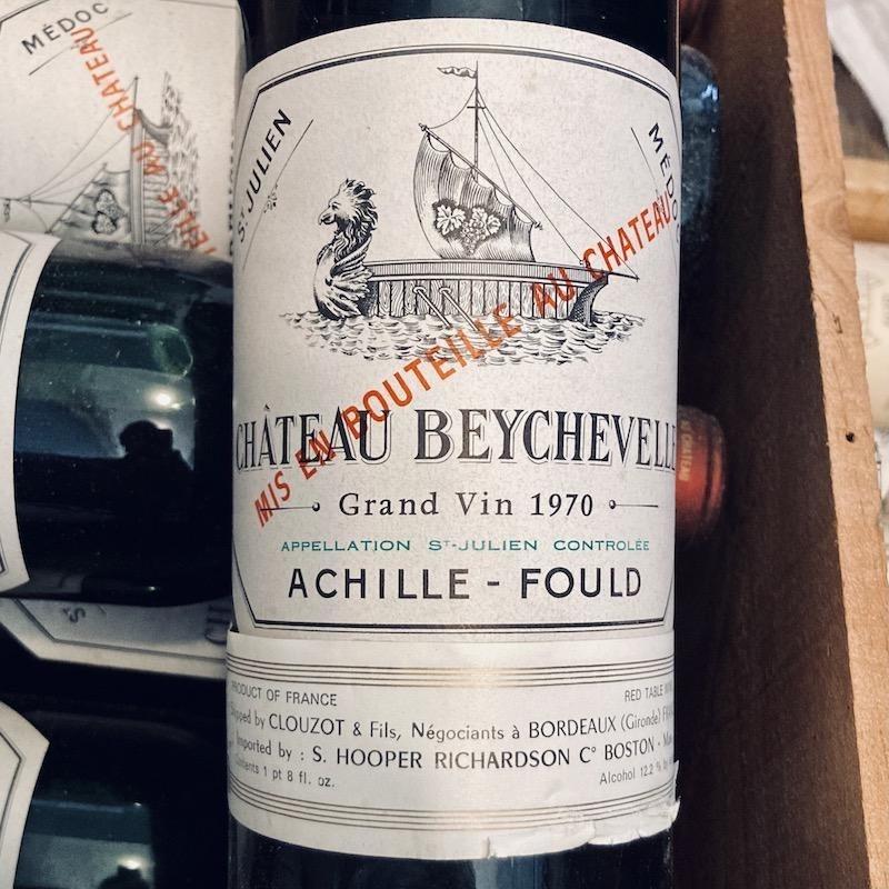 France 1970 Chateau Beychevelle St. Julien