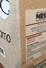 """Italy 2019 Cantina San Giacomo """"sangiacomo"""" Montepulciano d'Abruzzo 3L Box"""