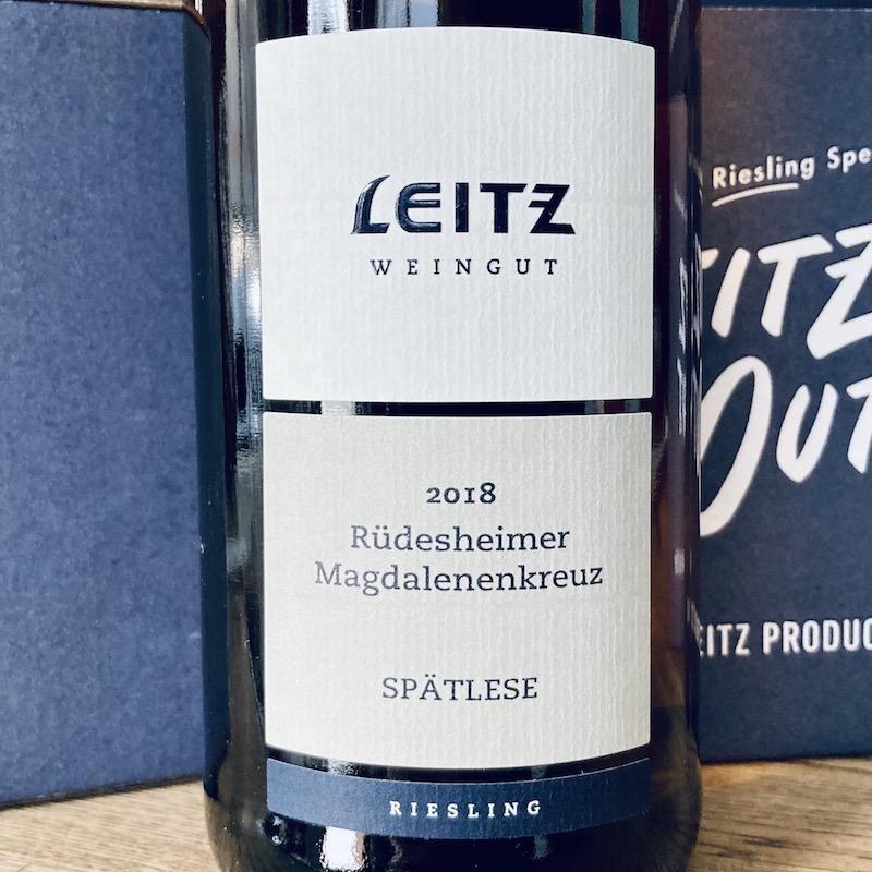 Germany 2018 Leitz Riesling Spatlese Rudesheimer Magdalenenkreuz