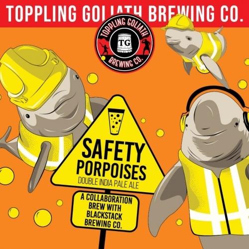 USA Toppling Goliath Safety Porpoises 4pk