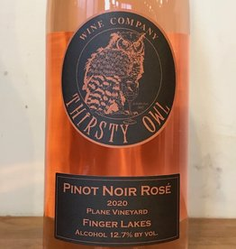 USA 2020 Thirsty Owl Pinot Noir Rose Finger Lakes