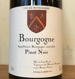 France 2018 Vignerons Associe Bourgogne Rouge Pinot Noir
