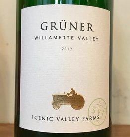 USA 2019 Scenic Valley Farms Willamette Valley Gruner Veltliner Liter