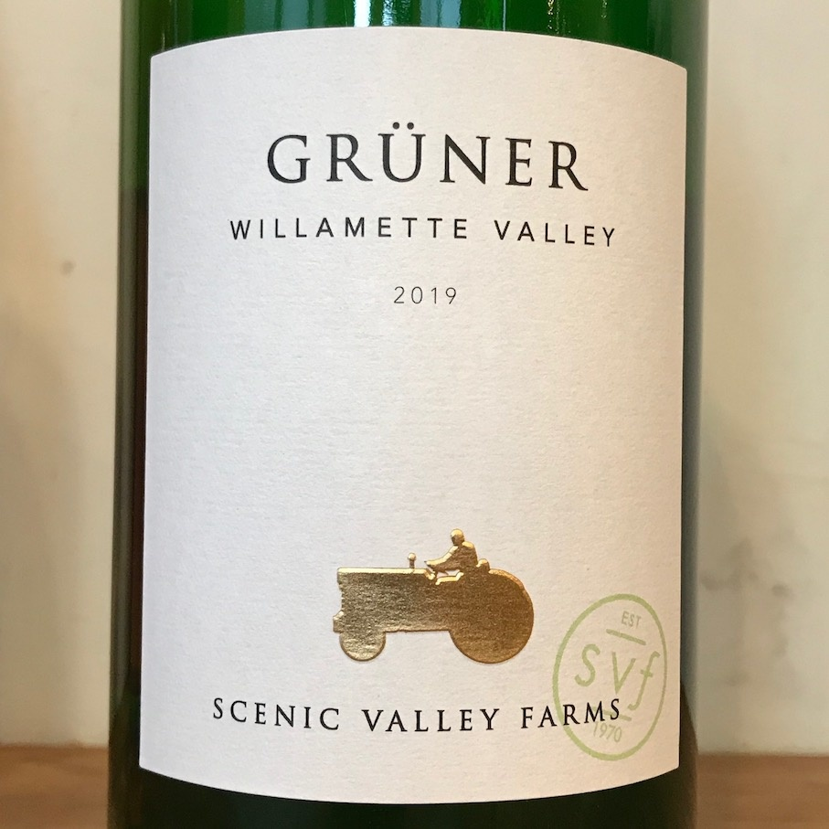 USA 2019 Scenic Valley Farms Willamette Valley Gruner Veltliner Liter