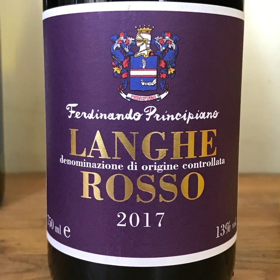 Italy 2017 F. Principiano Langhe Rosso