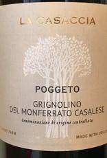 """Italy 2019 La Casaccia Grignolino del Monferrato Casalese """"Poggeto"""""""