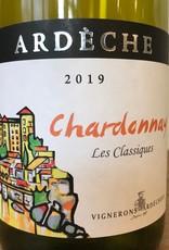 """France 2019 Vignerons Ardechois Chardonnay """"Les Classiques"""""""