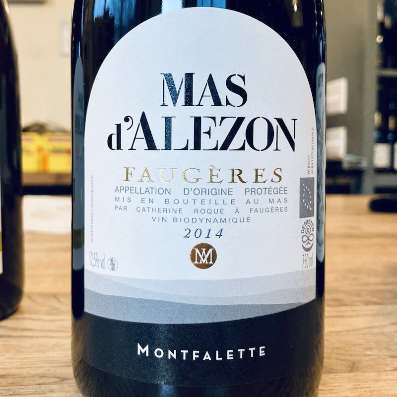 """France 2014 Mas d'Alezon Faugeres """"Montfalette"""""""
