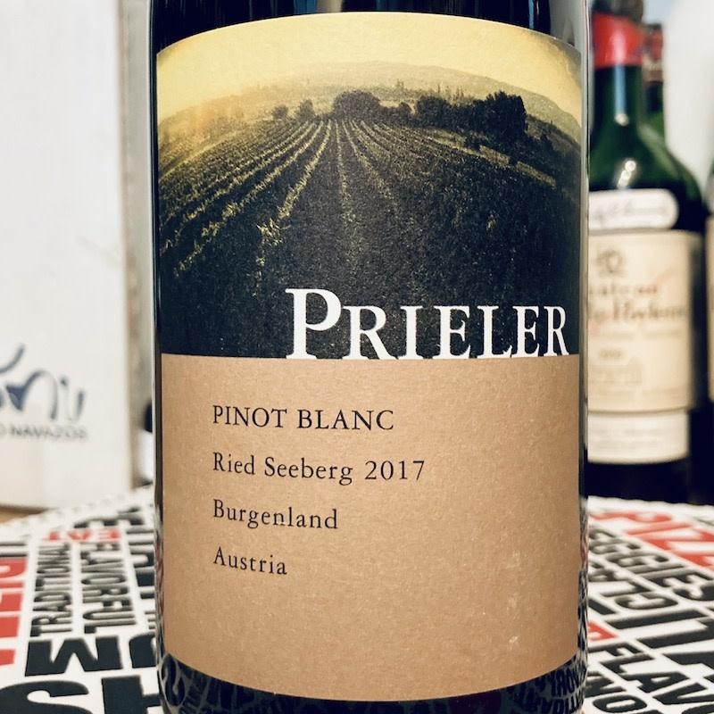Austria 2017 Prieler Pinot Blanc Seeberg