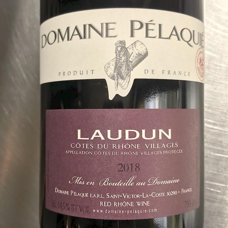 France 2018 Domaine Pelaquie Laudun Cotes Du Rhone Villages