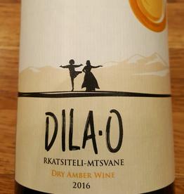 "Georgia 2019 Teleda ""Dila-O""  Rkatsiteli/Mtswane Dry Amber Wine"