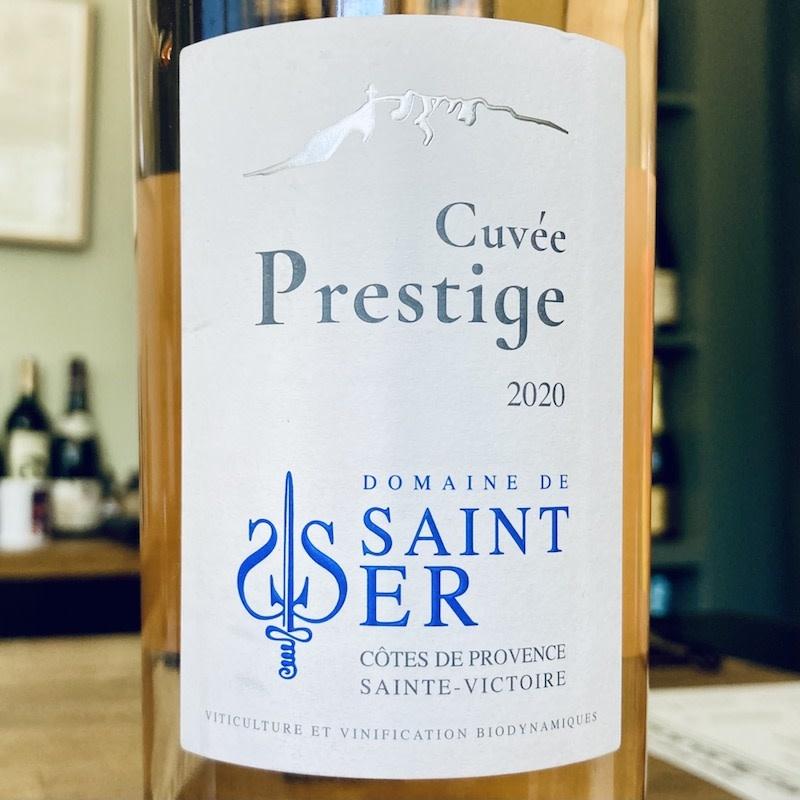 """2020 Domaine de Saint Ser """"Cuvee Prestige"""" Cotes de Provence Sainte-Victoire"""
