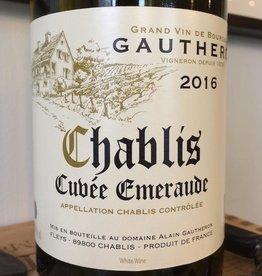 France 2019 Gautheron Chablis Cuvee Emeraude